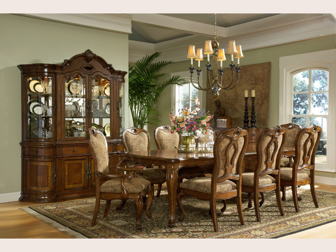 Dining room suites glenns furniture for Dining room suites images